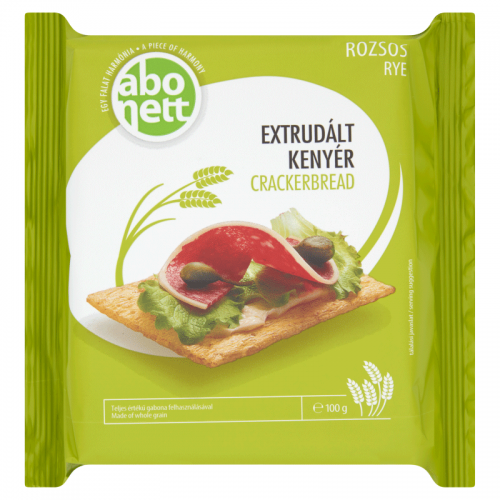 Abonett Extruded Crackerbread 100 g rye