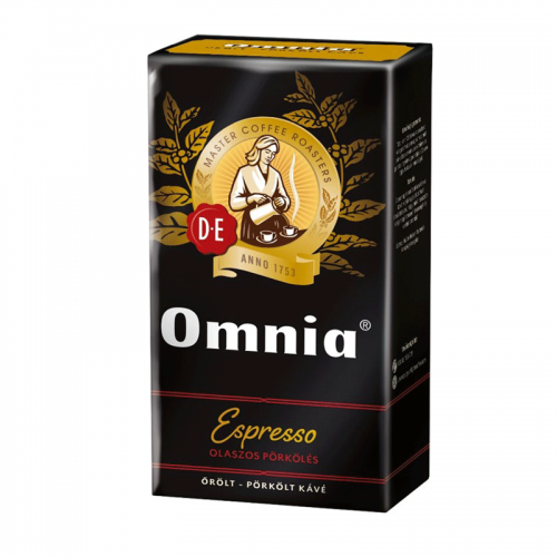 Douwe Egberts Omnia 250 g Espresso Ground Coffee