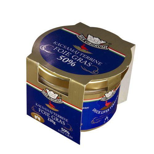 Rex Ciborum Foie Gras Duck Liver Terrine with Tokay Wine 220 g
