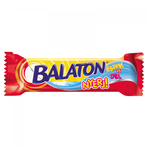 Balaton Wafer Filled with Cocoa Cream Coated in Cocoa Dark Coating 30 g