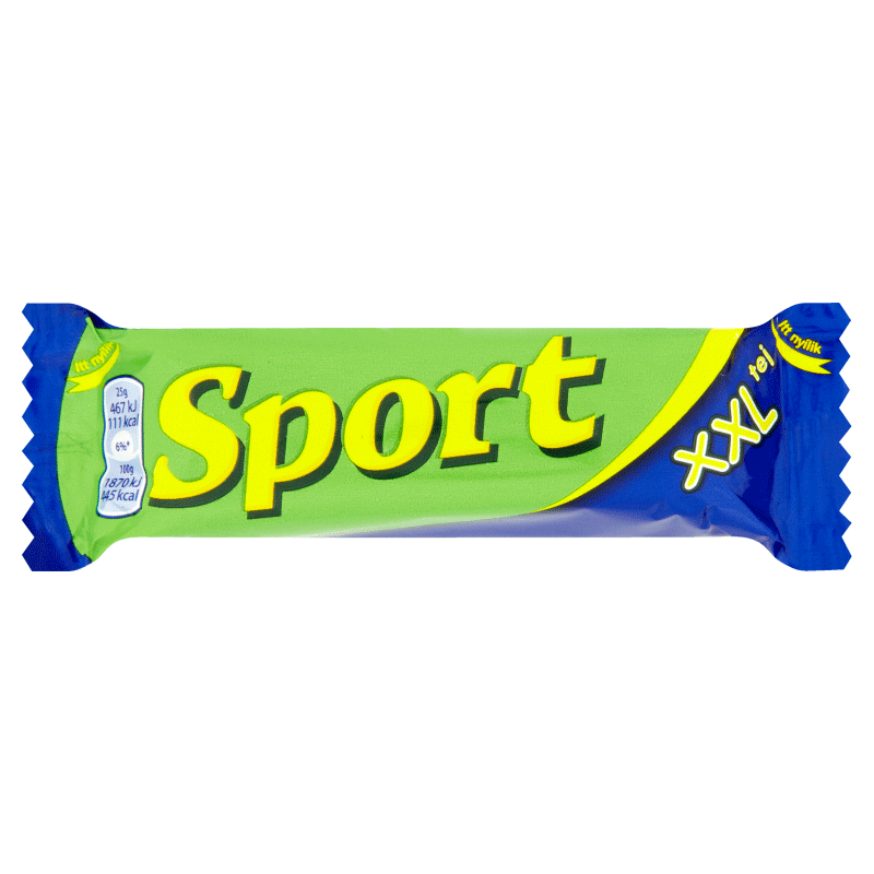 Sport XXL Milk Chocolate Covered Rum Flavoured Cocoa Bar 51 g