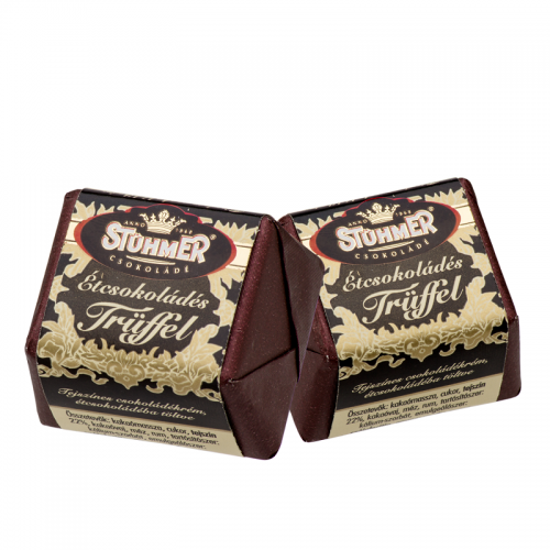 Stühmer Truffle Cube 16 g dark chocolate