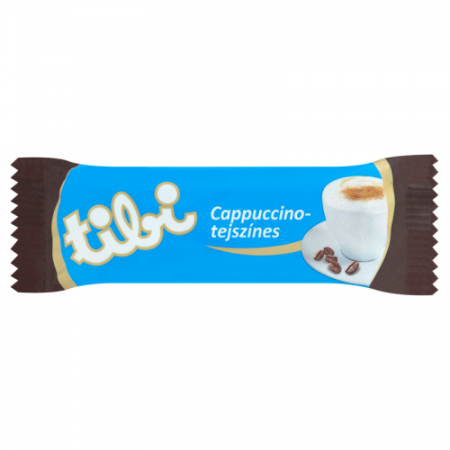 Tibi Dark Chocolate Bar with Cappuccino-Cream 30 g