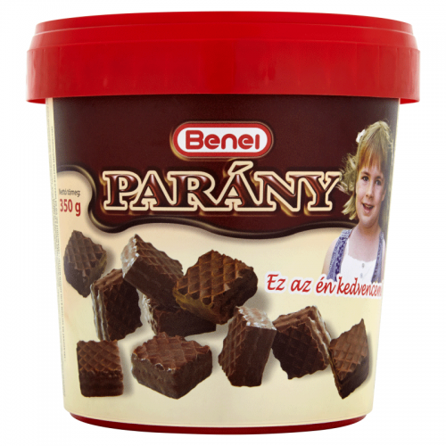 Benei Dark Chocolate Mini Wafers 350 g in bucket