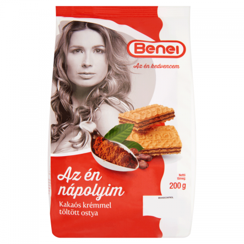 Benei Filled Wafer 200 g cocoa