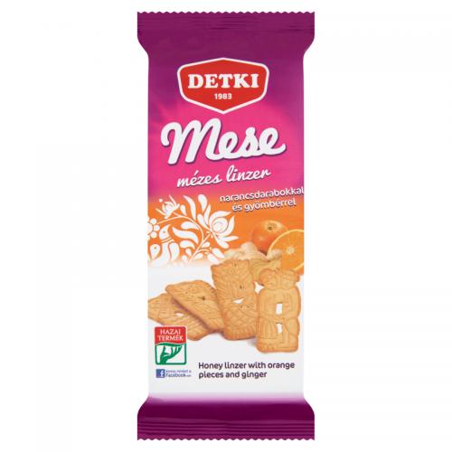 Detki Mese Honey Linzer 160 g orange pieces and ginger
