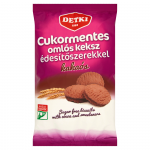 Detki Sugar-free Soft Biscuits with Sweeteners 180 g cocoa