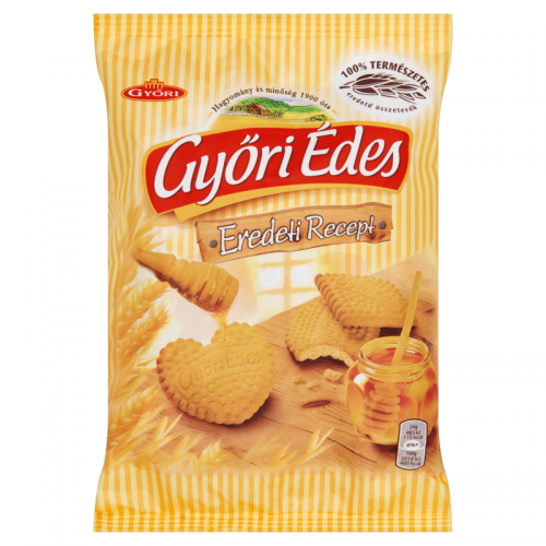 Győri Édes Crumbly Biscuits 180 g honey