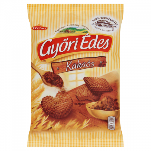 Győri Édes Crumbly Biscuits 180 g cocoa