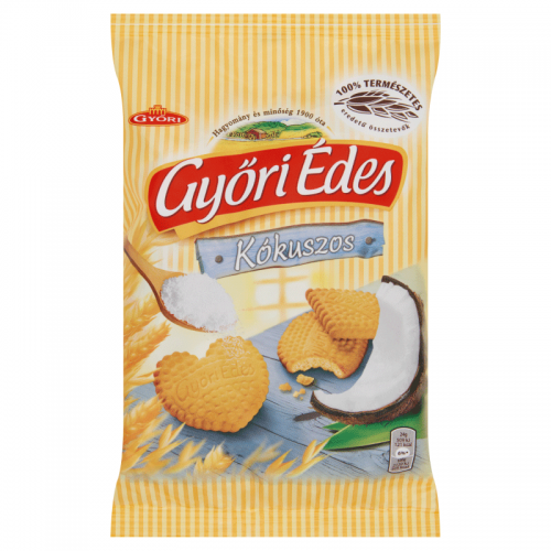 Győri Édes Crumbly Biscuits 180 g coconut
