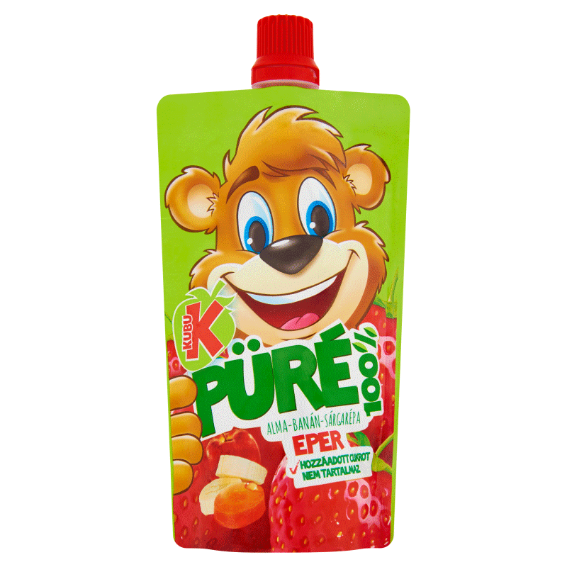 Kubu Strawberry Puree 100 g
