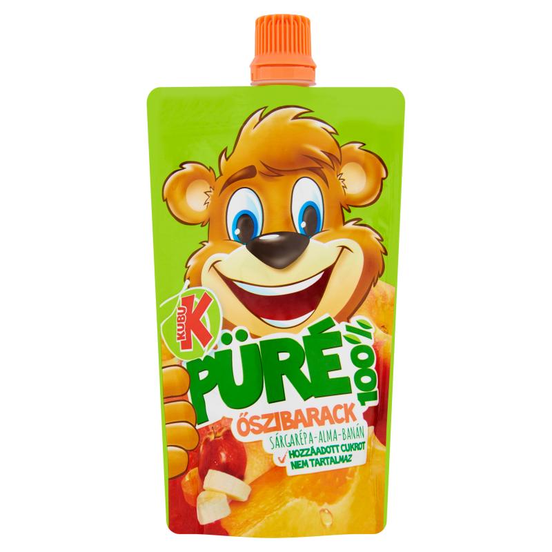 Kubu Peach Puree 100 g