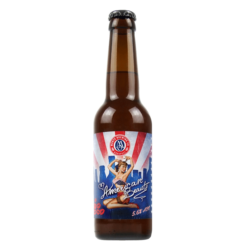 Monyo Brewing American Beauty American Pale Ale Beer 0.33 l bottle 5.6%