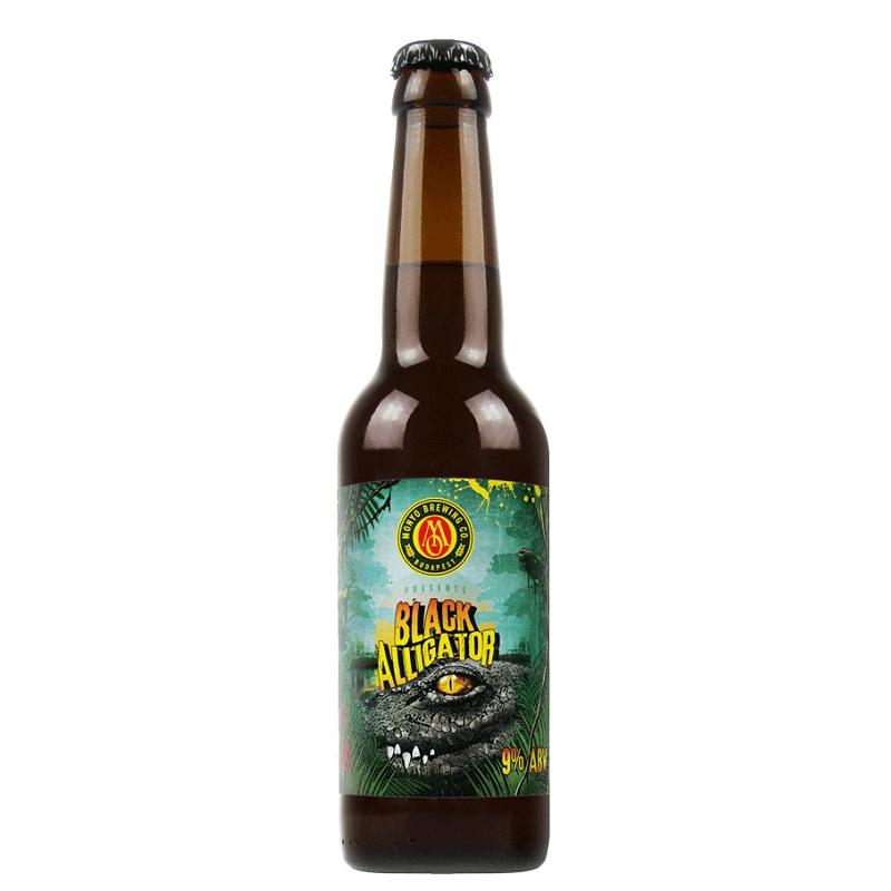 Monyo Brewing Black Alligator Black Saison Beer 0.33 l bottle 9%