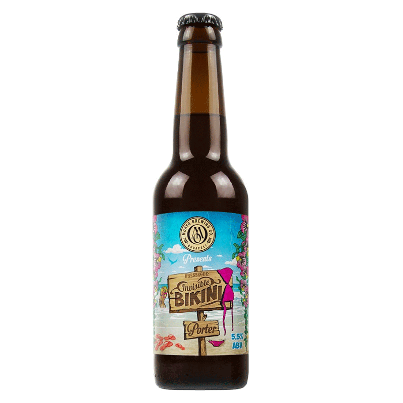 Monyo Brewing Invisible Bikini Brown Porter Beer 0.33 l bottle 5.5%