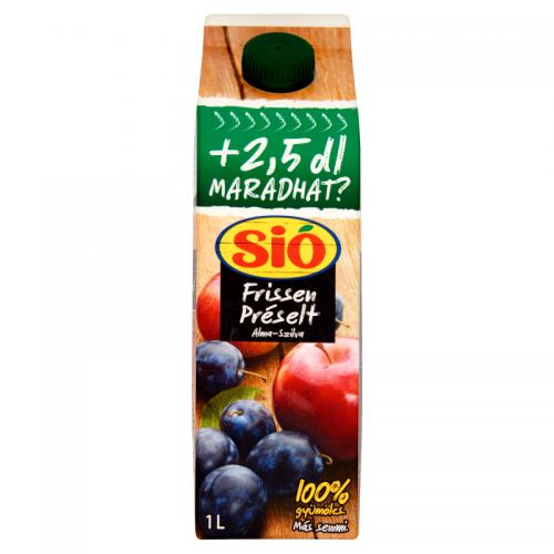 Sió Freshly Pressed Fruit Juice 1 l Apple-Pear 100%