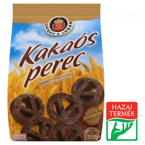 Urbán&Urbán Cocoa Pretzel 160 g dark chocolate