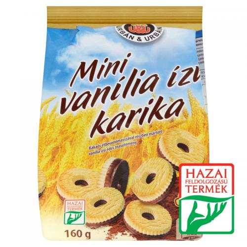 Urbán&Urbán Mini Vanilla Ring 160 g
