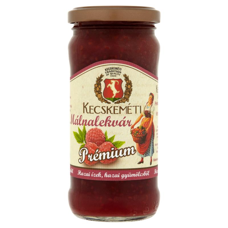 Kecskeméti Premium Jam 300 g raspberry