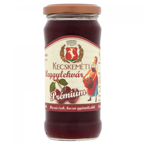 Kecskeméti Premium Jam 300 g sour cherry