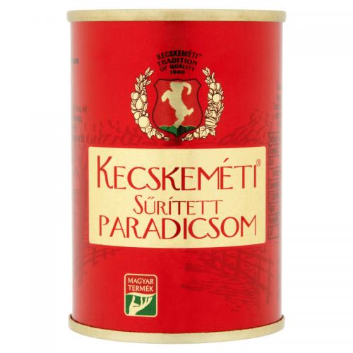 Univer Kecskeméti Canned Condensed Tomato 140 g 18-20%