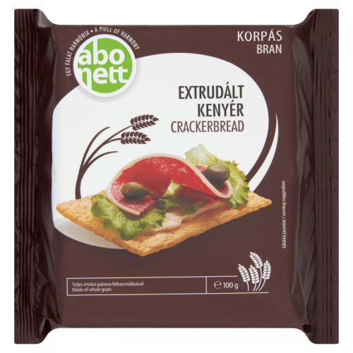 Abonett Extruded Crackerbread 100 g bran
