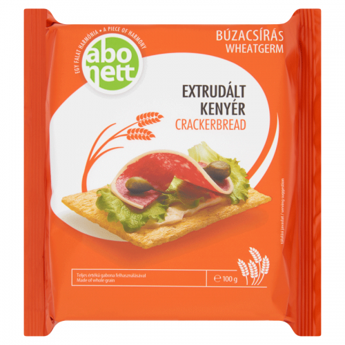 Abonett Extruded Crackerbread 100 g wheatgerm