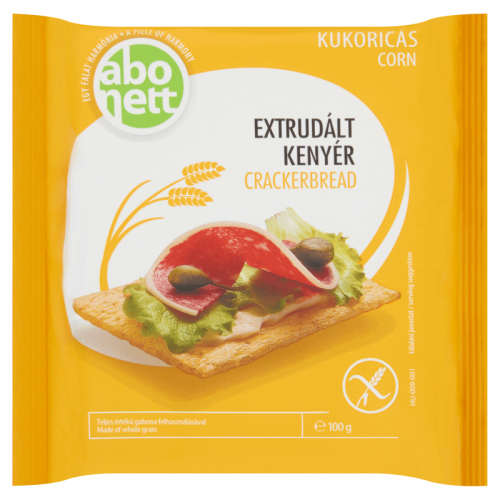 Abonett Gluten-Free Extruded Crackerbread 100 g corn