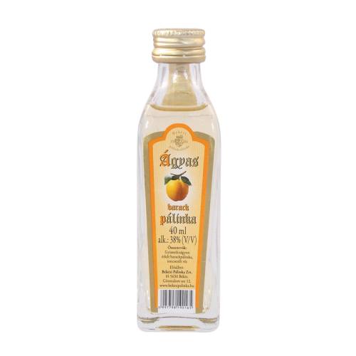 Békési Apricot Palinka on Fruit Bed 0.04 l 38%