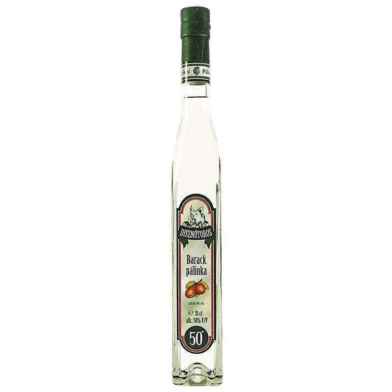 Békési Disznótoros Apricot Palinka 0.35 l 50%