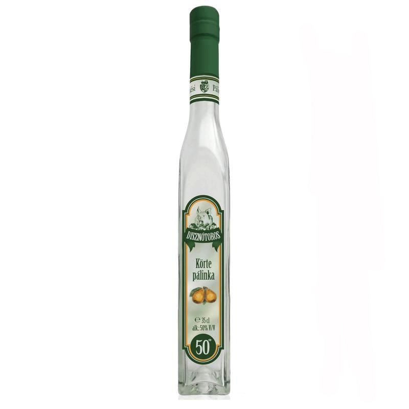 Békési Disznótoros Pear Palinka 0.35 l 50%