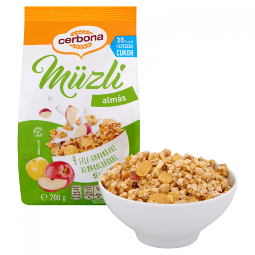 Cerbona Muesli 200 g apple