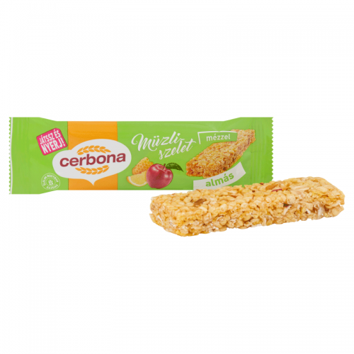 Cerbona Muesli Bar 20 g apple-lemon