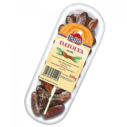 Kalifa Dried Dates 200 g on plate