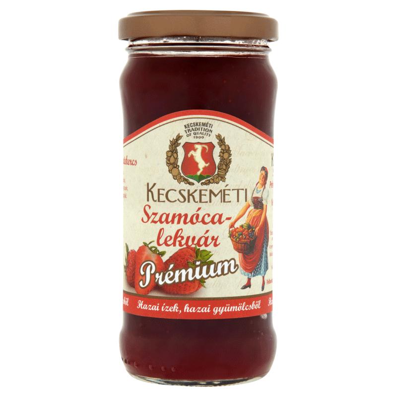 Kecskeméti Premium Jam 300 g strawberry
