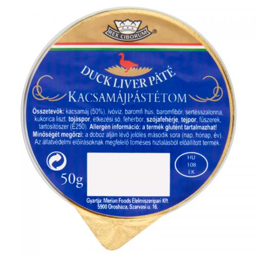 Rex Ciborum Duck Liver Paté 50 g
