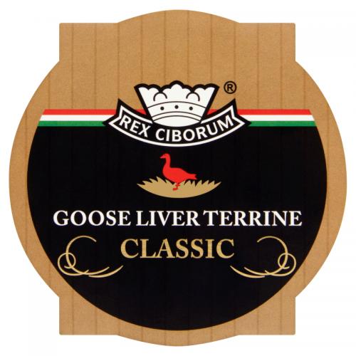 Rex Ciborum Foie Gras Classic Goose Liver Terrine 220 g