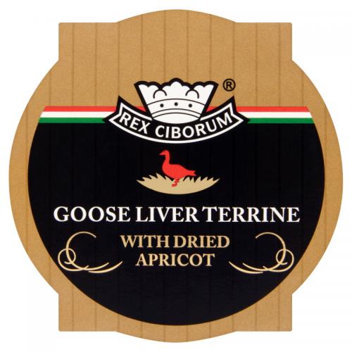 Rex Ciborum Foie Gras Goose Liver Terrine with Dried Apricot 220 g