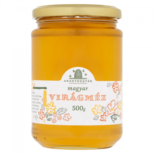 Aranynektár Hungarian Honey 500 g