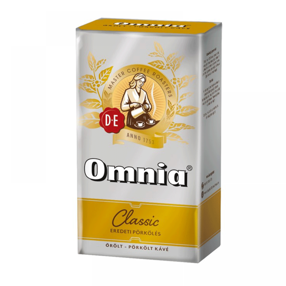 Douwe Egberts Omnia 250 G Espresso Roasted Ground Coffee