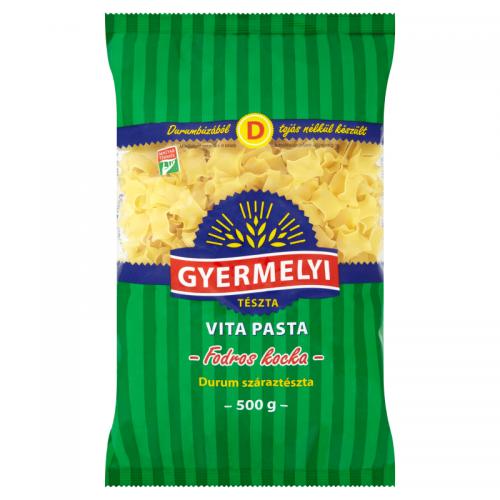 Gyermelyi Vita Pasta Durum Dried Pasta 500 g Frilly Squares