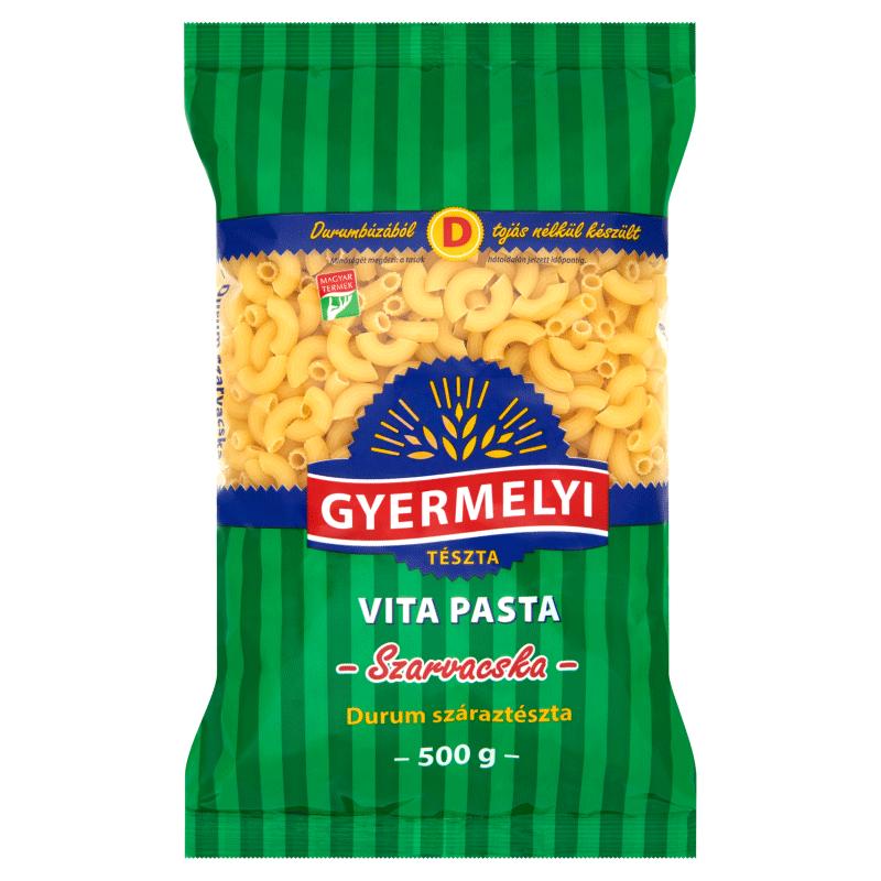 Gyermelyi Vita Pasta Durum Dried Pasta 500 g Hornlets