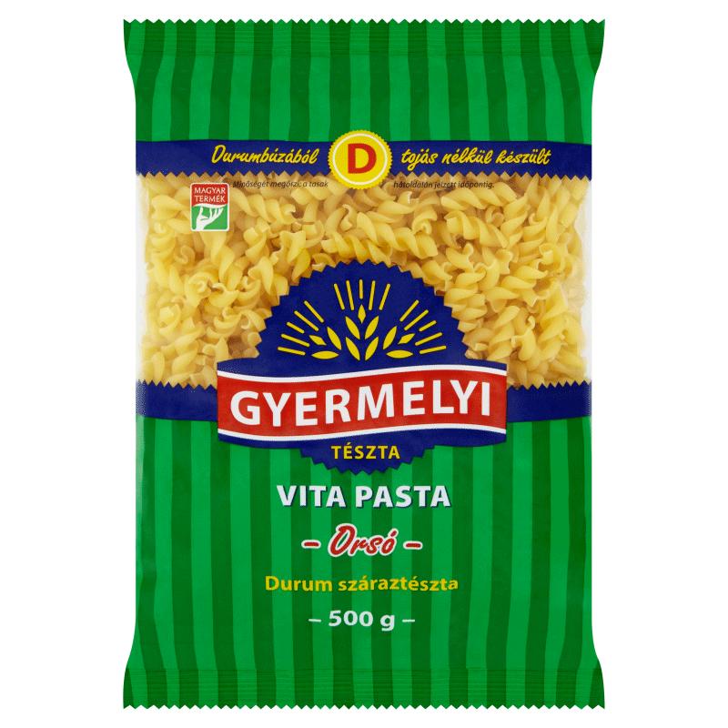Gyermelyi Vita Pasta Durum Dried Pasta 500 g Spindle