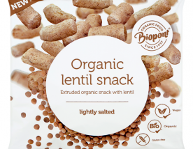 Biopont Bio Extruded Lentil Snack 60 g lightly salted, gluten free