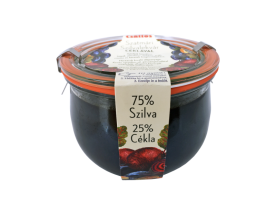 Csattos Szatmári Plum Jam 600 g with beetroot