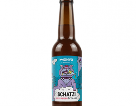 Monyo Brewing Schatzi Hefeweizen Wheat-Type Hybrid Fermented Beer 0,33 l bottle 6.1%